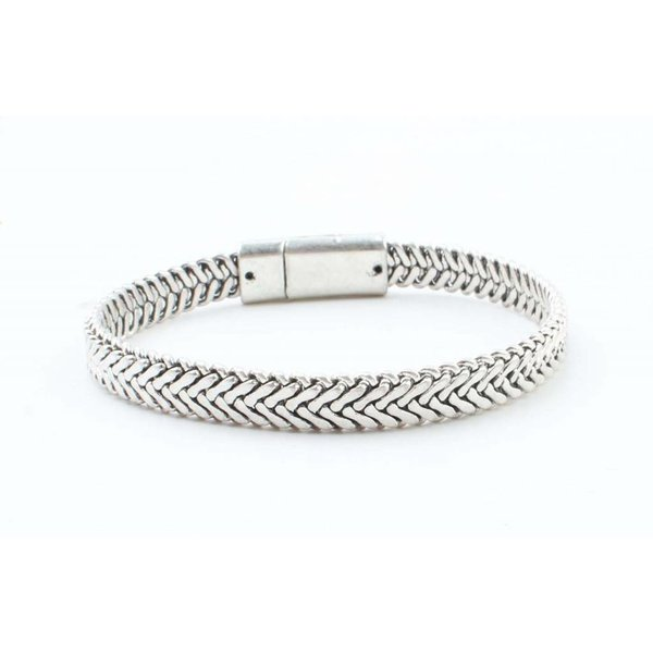 "Stahl Armband ""Marley"" silber"