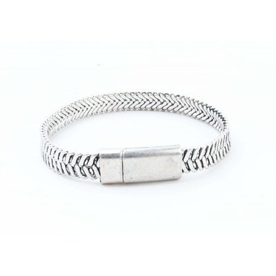 "Stahl Armband ""Ziva"" silber"