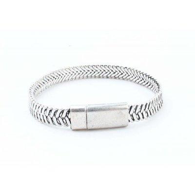 """Steel bracelet """"Ziva"""" silver"""