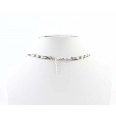 """Short necklace """"Nola"""" silver"""