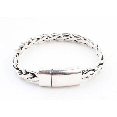 """Armband """"Chloé"""" shiny zilver"""