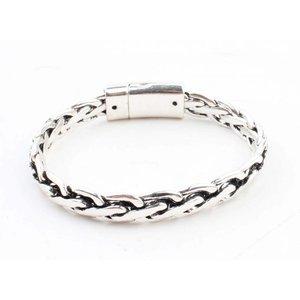 """Armband """"Chloé"""" glänzend silber"""