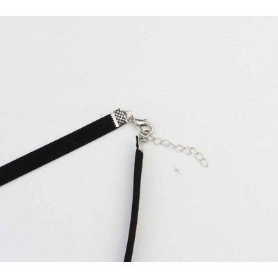 """Halskette """"Stein"""" schwarz"""