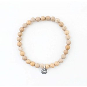 Bracelet natural stone Rutilated Quartz