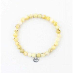 Bracelt natural stone citrine