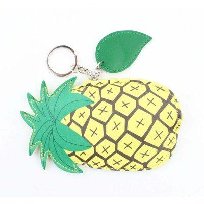 """Taschen Anhänger """"Ananas"""" gelb"""