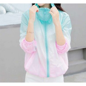 "Jacket ""Rainbow"" mint-pink"