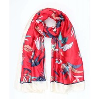 "Scarf ""Solange"" red"