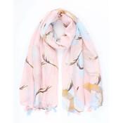 """Schal """"Heron"""" rosa"""
