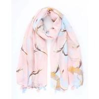 """Sjaal """"Heron"""" roze"""