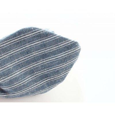 """Stirnband """"marine"""" blau/weiß"""
