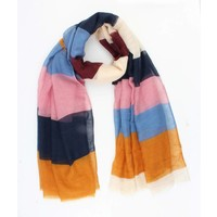 "Scarf ""Georgia"" multi color"