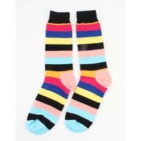 """Men socks """" Stripe """" black"""