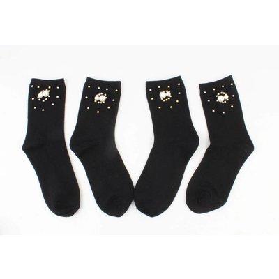 """Socken """"Universum"""" Schwarz pro 2 Paar"""