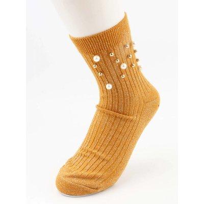 """Socken """"Sporty Perle"""" oker pro 2 Paar"""