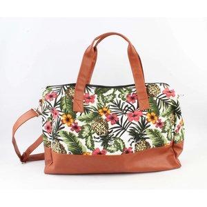 "Shopper ""Tropical Paradise"" groen"