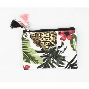 "Mini clutch ""Tropical Paradise"" groen"