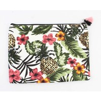 "Clutch ""Tropical Paradise"" groen"