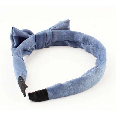 "Haarband ""Velvet"" Jeansblau pro 2 Stück"
