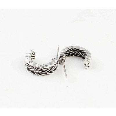 """Metal earring """" Nea """" old silver"""