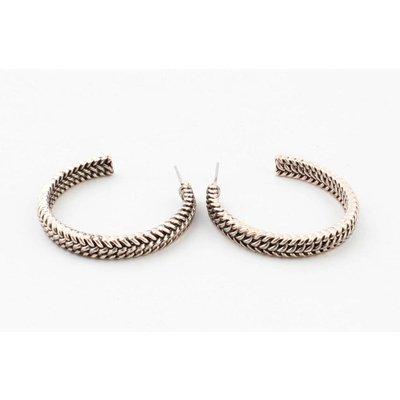 """Metal earring """" Dalya """" rosé"""