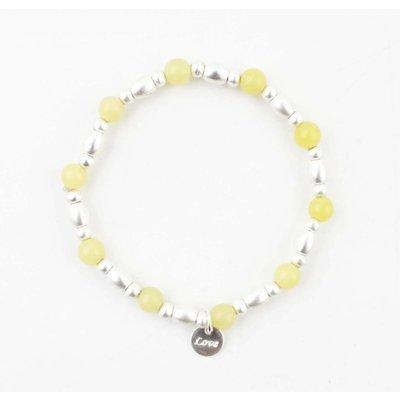 "Bracelet "" Love "" yellow"