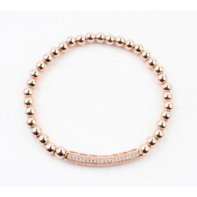 """Armband """"Sally"""" rosé"""