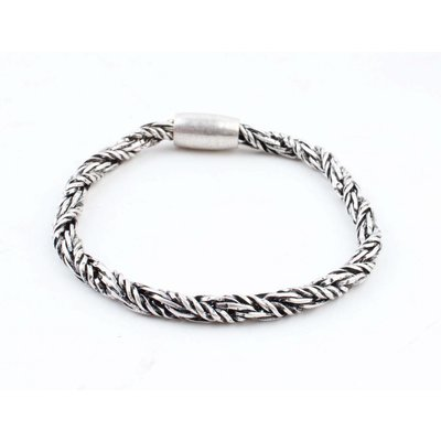 "Bracelet "" Sagar "" old silver"