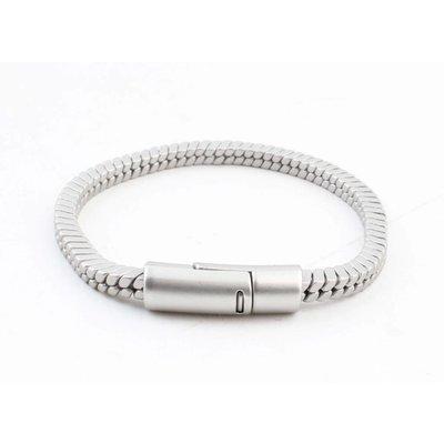 """Bracelet """" Lora """" matt silver"""