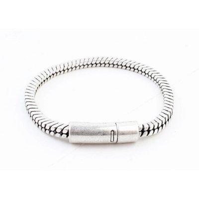 "Armband ""Lora"" oud zilver"