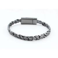 "Armband ""Zina"" antraciet"