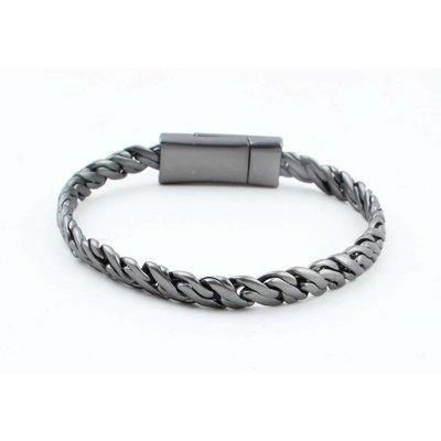 "Bracelet "" Zina "" anthracite"