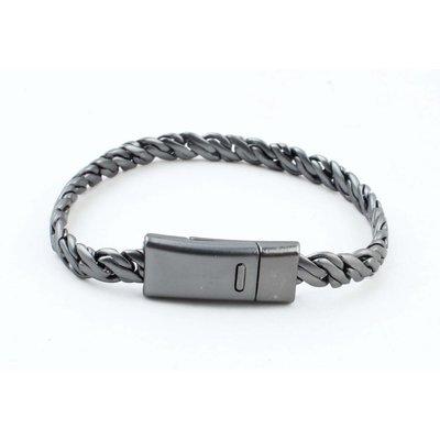 """Armband """"Zina"""" anthrazit"""
