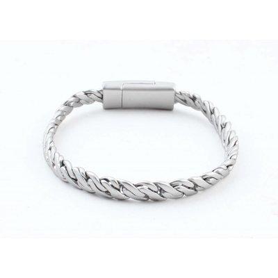 "Armband ""Zina"" matt silber"