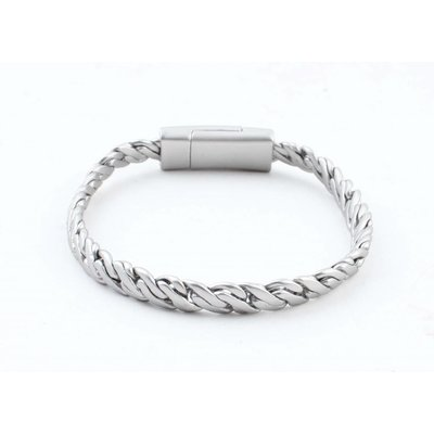 "Bracelet "" Zina "" matt silver"