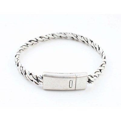 """Bracelet """" Zina """" old silver"""
