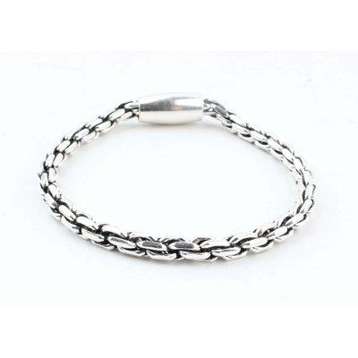 "Armband ""Elora"" glanzend zilver"