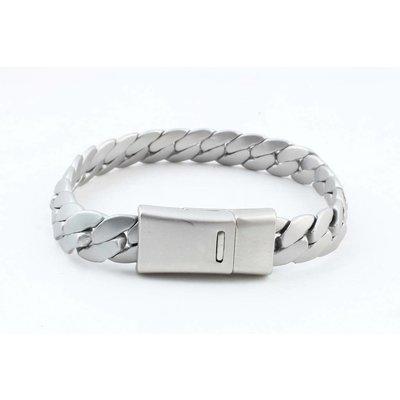 """Armband """"Liv"""" matt silber"""