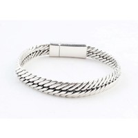 "Armband ""Gaia"" silber glänzendes"