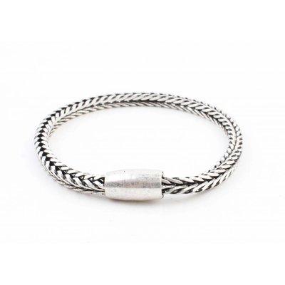 """Bracelet """" Noé """" old silver"""