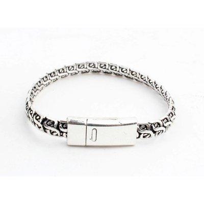 "Armband ""Lina"" glanzend zilver"
