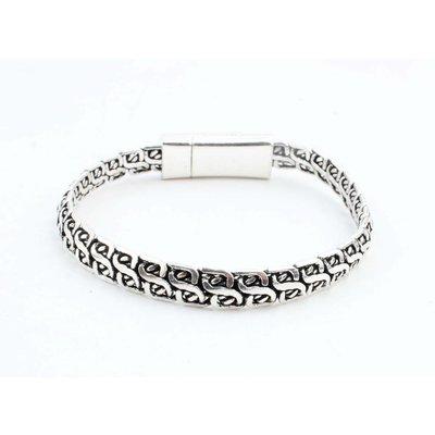 """Armband """"Lina"""" glänzend silber"""