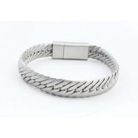 "Armband ""Koya"" matt silber"