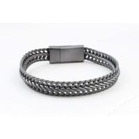 "Armband ""Nisa"" antraciet"