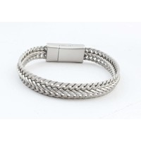 "Bracelet ""Nisa"" matt silver"