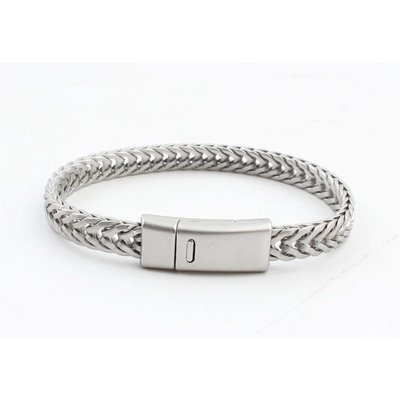 "Armband ""Milena"" matt silber"