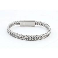 "Bracelet ""Milena"" matt silver"