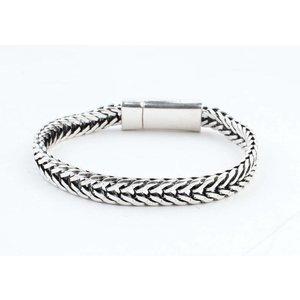 "Armband ""Milena"" glanzend zilver"