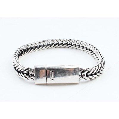 """Armband """"Milena"""" glänzend silber"""