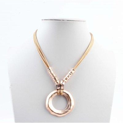 """Necklace """"Raheem"""" rosé"""